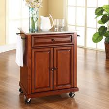 kitchen island with stainless top kitchen rolling kitchen cart stainless steel table stainless