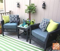 Small Space Patio Furniture Sets Unique Design Halsted 5 Wicker Small Space Patio Furniture