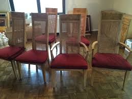lane rhythm mid century dining chairs