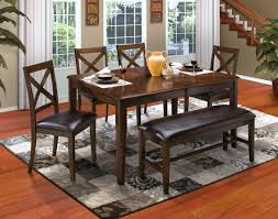 Corner Dining Table by Latitudes Chestnut New Classic Furniture