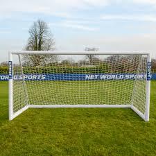 12 x 6 forza alu110 freestanding soccer goal net world sports