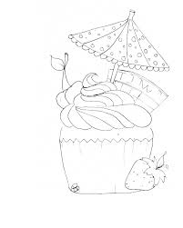 kidscolouringpages orgprint u0026 download cupcake coloring pages to