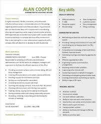 Office Assistant Resume Example by 7 Legal Administrative Assistant Resume Templates U2013 Free Sample