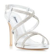 dune mansionn strappy jewelled high heel sandal bluewater 59 00