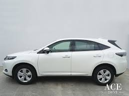 lexus harrier 2016 rent lease a toyota harrier by ace drive car rental