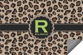 Personalized Outdoor Rugs Granite Leopard Indoor Outdoor Rug Personalized Youcustomizeit