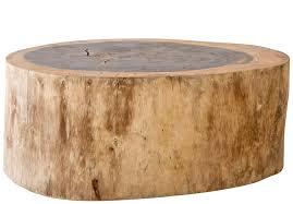 tree stump coffee table tree trunk table coffee table simple top tree stump make a tree