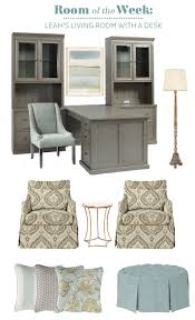 bringing a desk into a living room how to decorate leah s living room with a desk