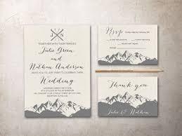 mountain wedding invitations mountain wedding invitation best 25 mountain wedding invitations