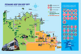 Hop On Hop Off Los Angeles Route Map by Hop On Hop Off Penang A Great Way To See Both City Beach