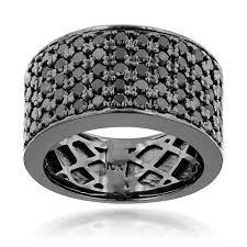 exquisite decoration black diamond mens wedding ring 1000 images