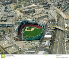 Fenway Park Seating Map Vintage Aerial Fenway Park Boston Ma Editorial Photo Image