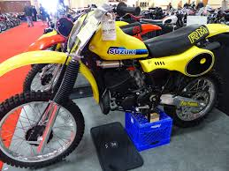 oldmotodude 1981 suzuki rm250 for sale at the 2016 mecum las