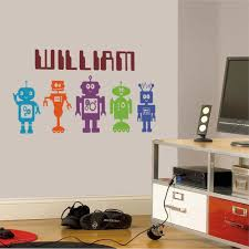 robots wall stickers u0026 decals