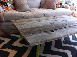 Build Wood Slab Coffee Table by How To Build A Coffee Table From Reclaimed Wood 5 Steps With