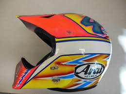 arai motocross helmet 80 u0027s u0026 90 u0027s custom painted helmets of the stars moto related