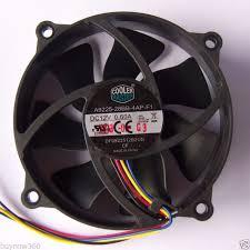 cooler master cpu fan cooler master pwm 90mm round pc cpu fan 4 pin deep silent