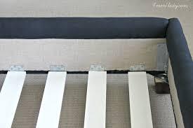 amazoncom adjustable center leg bed frame support home wooden bed