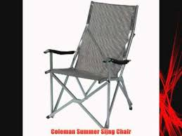Patio Sling Chair Coleman Summer Sling Chair