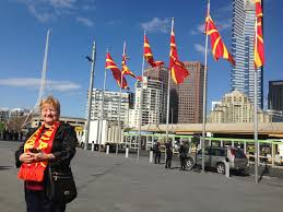 Macedonian Flag Macedonians Around Australia Prepare To Mark Macedonian