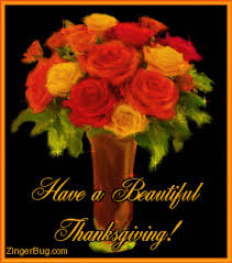 a beautiful thanksgiving is a