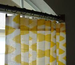 Yellow White Curtains Rugs Curtains Best Yellow And White Ikat Curtains For Dazzling