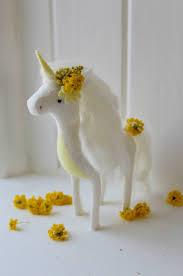 unicorn sewing kit lemon diy craft kit unicorn plush animal