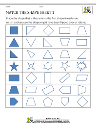 4th grade geometry worksheets worksheets