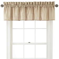 Curtains With Matching Valances Valances Curtains U0026 Drapes For Window Jcpenney