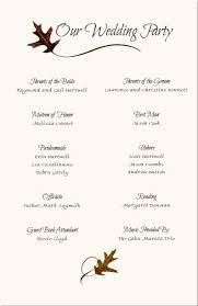 wedding program templates free wedding reception programs sle mayotte occasions co
