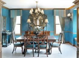 Color Schemes For Dining Rooms Cool Color Scheme Dining Room Blue Interior Design Tips