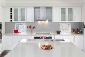 Glossy Kitchen Cabinets Kitchen Design Glossy White Kitchens Cabinets Modern Kitchen