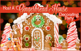 Gingerbread House Decoration Host A Gingerbread House Decorating Party