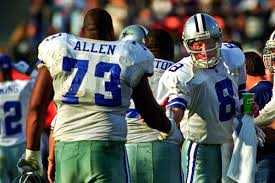 Larry Allen Bench Press Top 50 Dallas Cowboys Of All Time