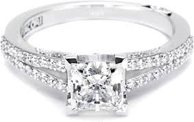 engagement rings 3000 75ct princess g vs2 tacori engagement ring 3000pr5 cr1