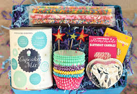 cupcake gift baskets cupcake birthday in a box gift idea happiness is