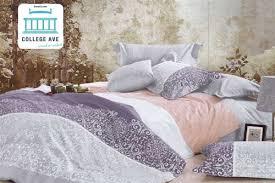 twin xl comforter set college ave dorm bedding cotton softness