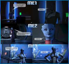 Funny Mass Effect Memes - when liara wants it by velvet asari89 on deviantart