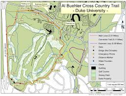 Mapping Running Routes by Hiking And Running Duke Forest