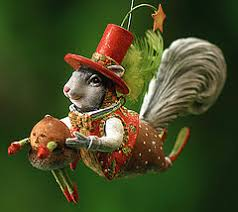 patience brewster mr squirrel ornament ornaments