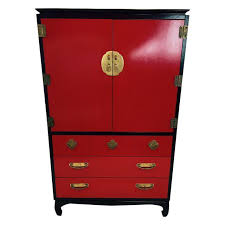 asian dressers lacquered black asian style dresser chairish
