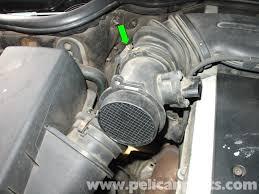 mercedes benz w210 maf sensor replacement 1996 03 e320 e420