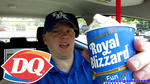 reed reviews dairy queen royal blizzard oreo youtube
