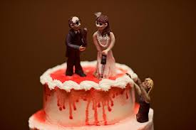 wedding cake for the groom vintage chic bride and groom cut
