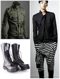 Urban Big And Tall Mens Clothing Tips And Trends The Street Urban Goth Style