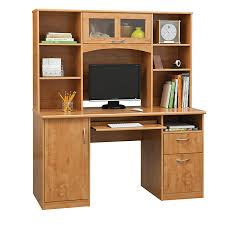 Hutch With Desk Realspace Outlet Landon Desk With Hutch 64 H X 55 1 2 W X 23 D