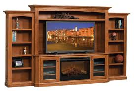 Electric Fireplace Entertainment Center Buckingham Entertainment Center With Electric Fireplace From