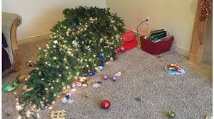 25 hilarious christmas tree fails that make charlie brown look