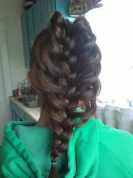hair plait with chopstick how to create a cage braid 5 steps