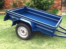 how to paint your trailer how to remove loose and flaking rust